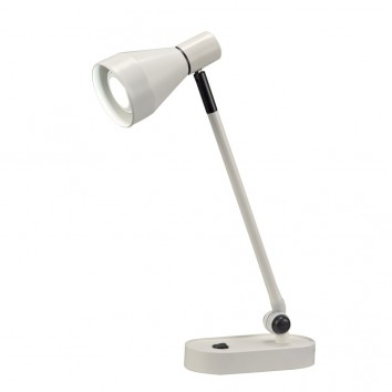 Lámpara de mesa orientable serie KOS