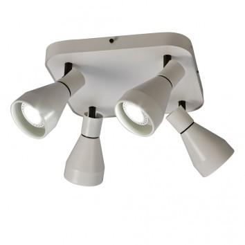 Lámpara plafón 4 focos orientables KOS