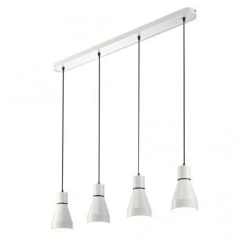 Lámpara colgante de techo KOS 4 luces