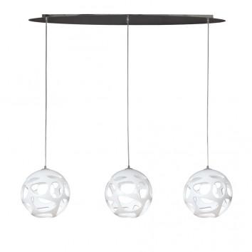 Lámpara colgante de techo ORGANICA 3 luces