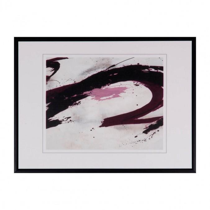 Cuadro abstracto WAVE 40x30cm con marco