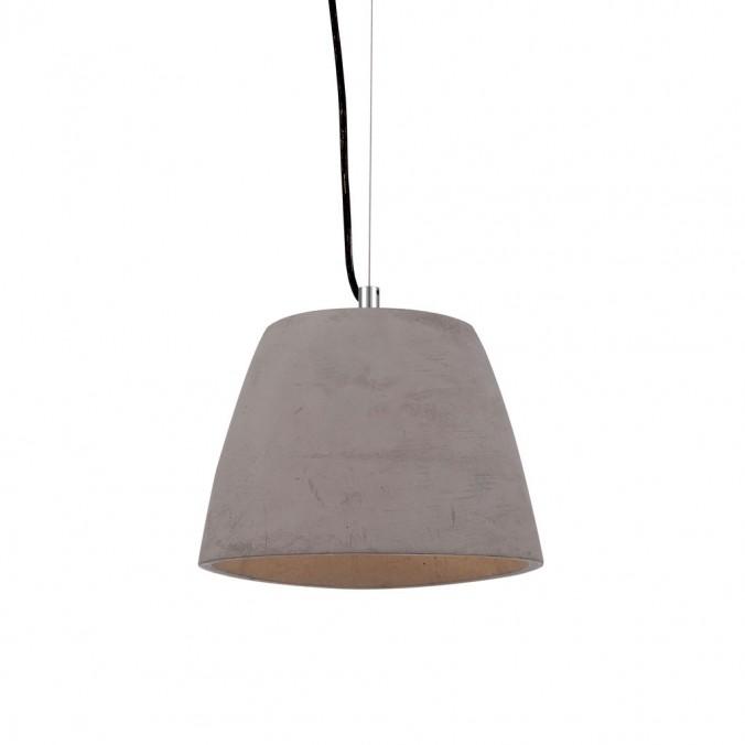 Lámpara colgante TRIANGLE 22cm pantalla cemento