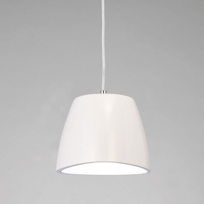 Lámpara colgante TRIANGLE 22cm polimero