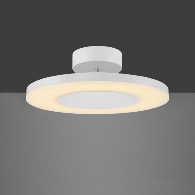 Plafón de techo LED DISCOBOLO 36cm metal blanco