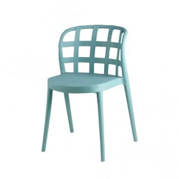 Silla GINA color mint estilo vintage interior y exterior