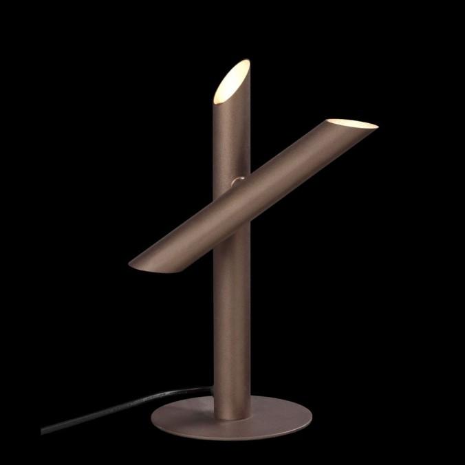 Lámpara de mesa diseño LED TAKE bronze