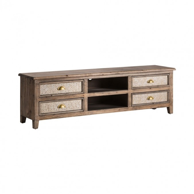 MUEBLE T.V. SILVER XII - 160x35x47h