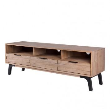 Mueble TV Amsterdam 165cm madera maciza acacia