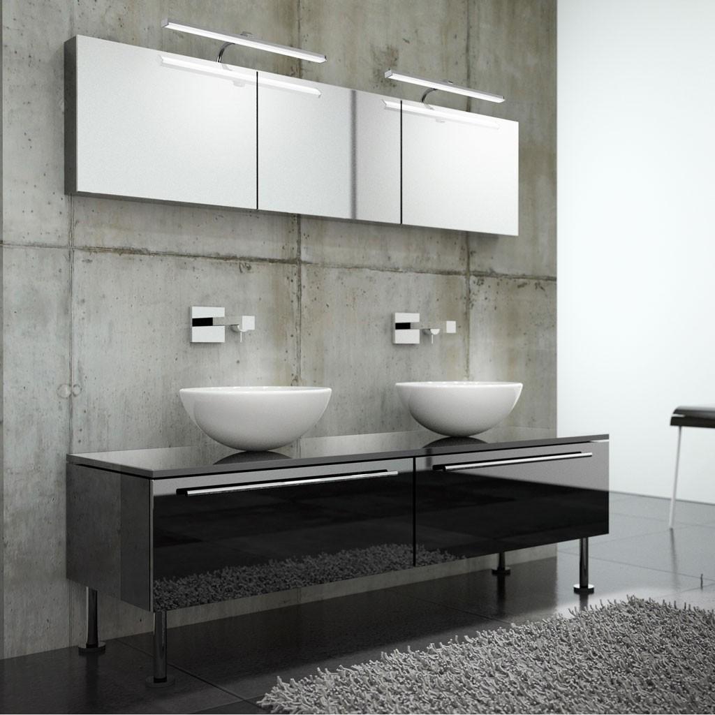 Lámpara aplique de baño LED SISLEY 36cm - Erizho