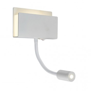 Aplique de pared lectura LED doble luz