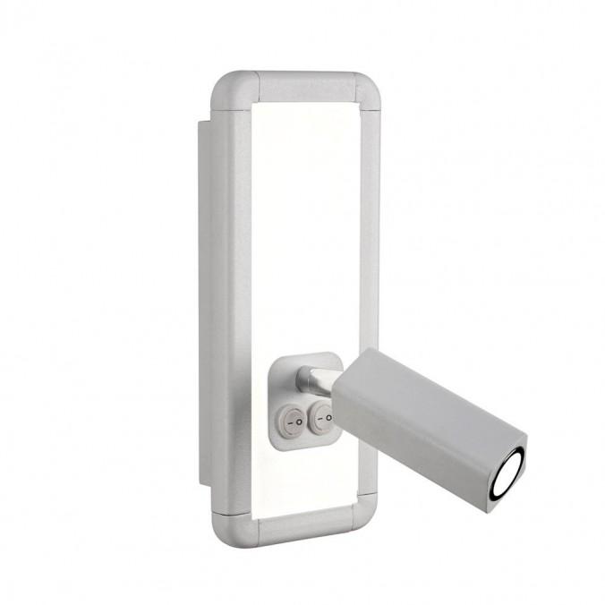 Aplique de pared LED doble luz IBIZA WHITE