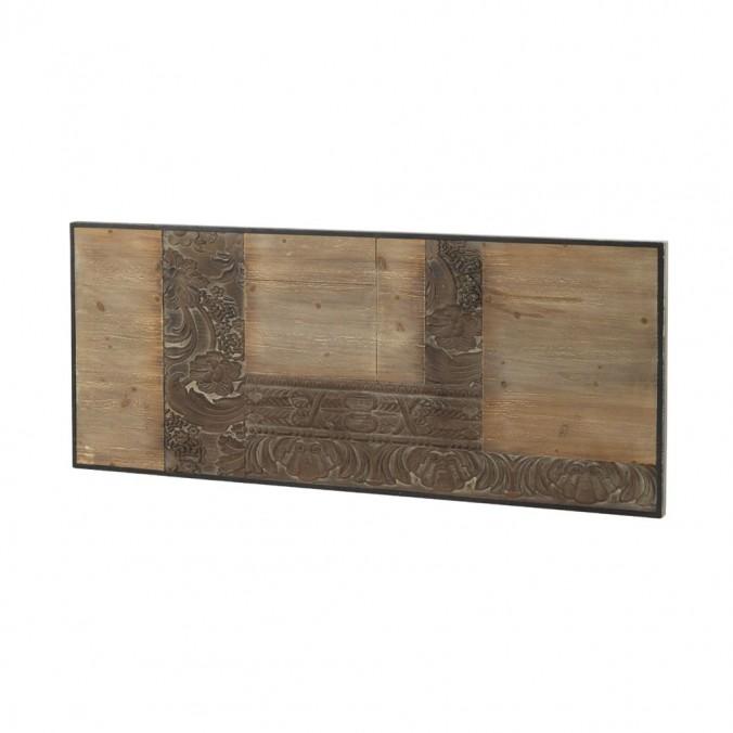 Cabezal tallado en chapa de abeto 145x60cm