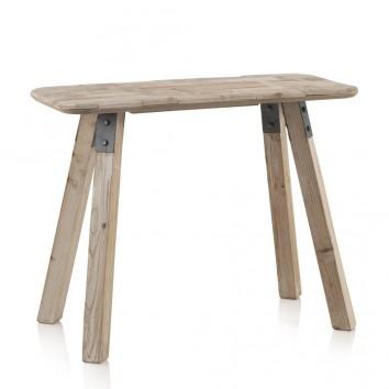 Consola estilo nórdico 91x41x70h madera de abeto