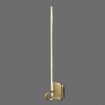 Lámpara aplique pared LED CINTO 83cm Cuero