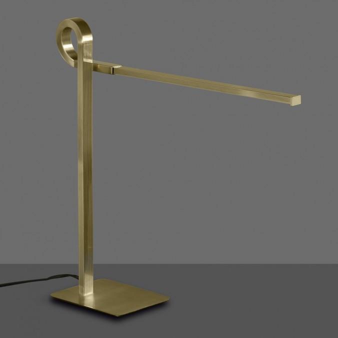 Lámpara de mesa lectura LED CINTO Cuero