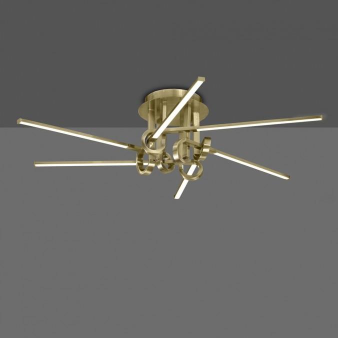 Plafón de techo  LED 42W CINTO Cuero