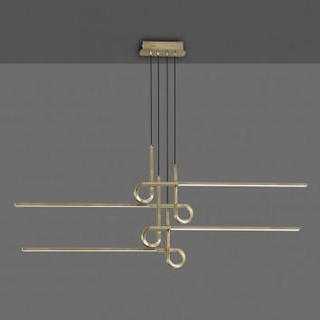 Lámpara techo suspensión LED 42W CINTO Cuero