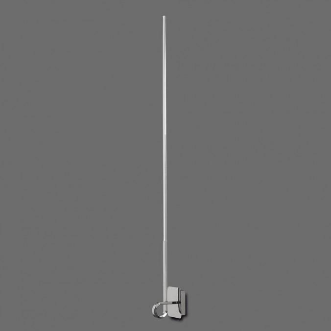 Lámpara aplique pared LED CINTO 125cm cromo