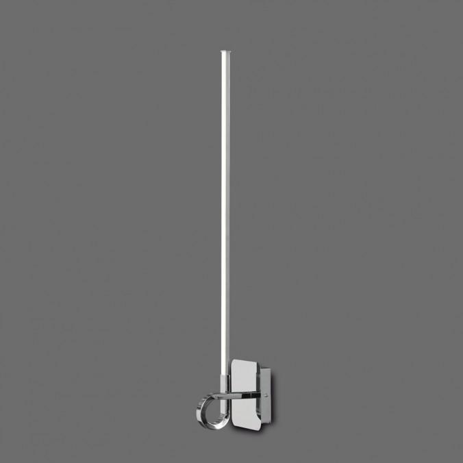 Lámpara aplique pared LED CINTO 83cm CROMO
