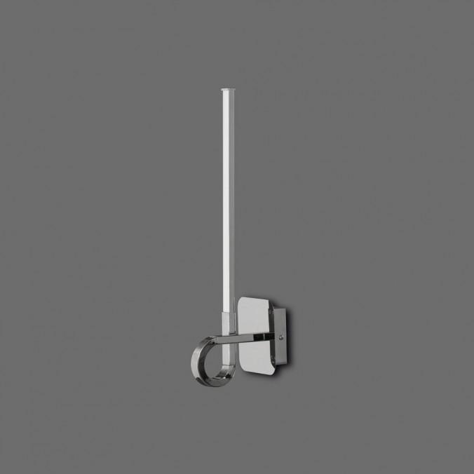 Lámpara aplique pared LED CINTO 48cm CROMO