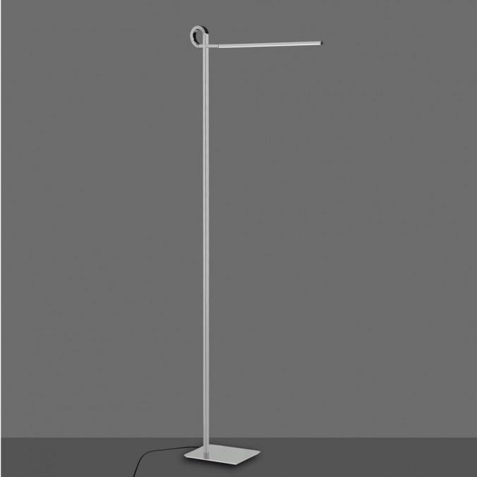 Lámpara de pie lectura LED CINTO 163cm CROMO