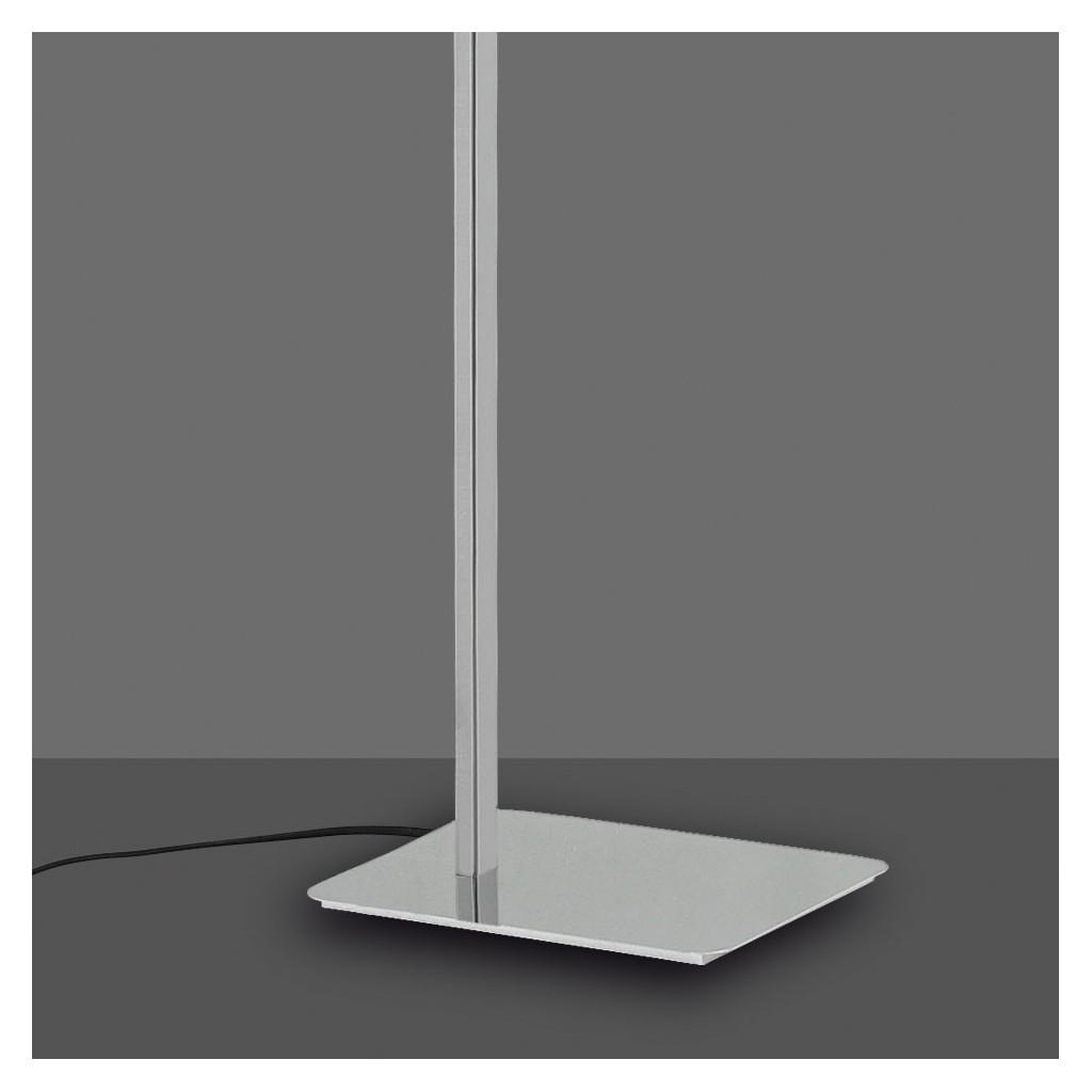 L mpara de pie lectura led cinto 163cm cromo erizho - Lampara de pie para lectura ...