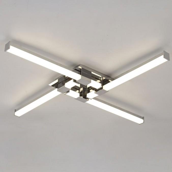 Plafón de techo  LED 24W CINTO CROMO