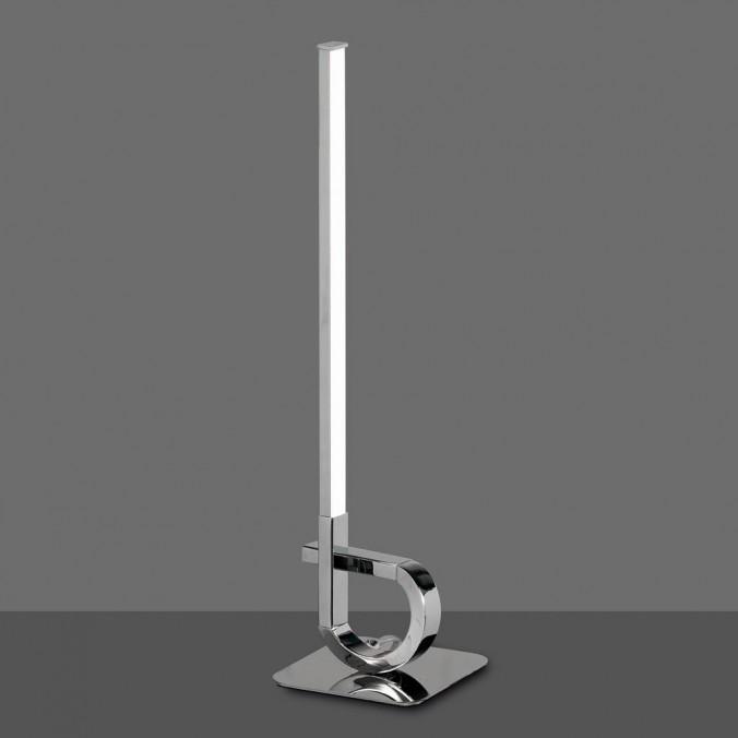 Lámpara de mesa LED 54cm CINTO Cromo