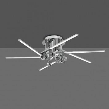 Plafón de techo  LED 42W CINTO cromo