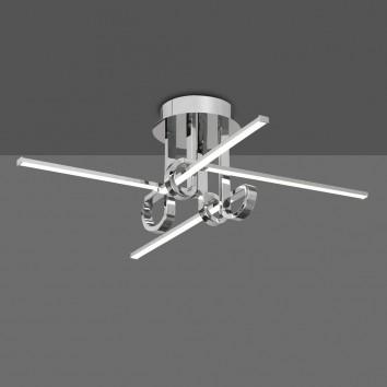 Plafón de techo LED 28W CINTO cromo