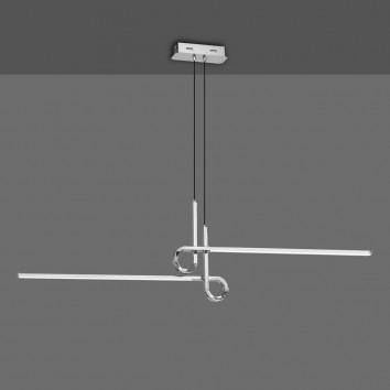 Lámpara techo suspensión LED 24W CINTO cromo