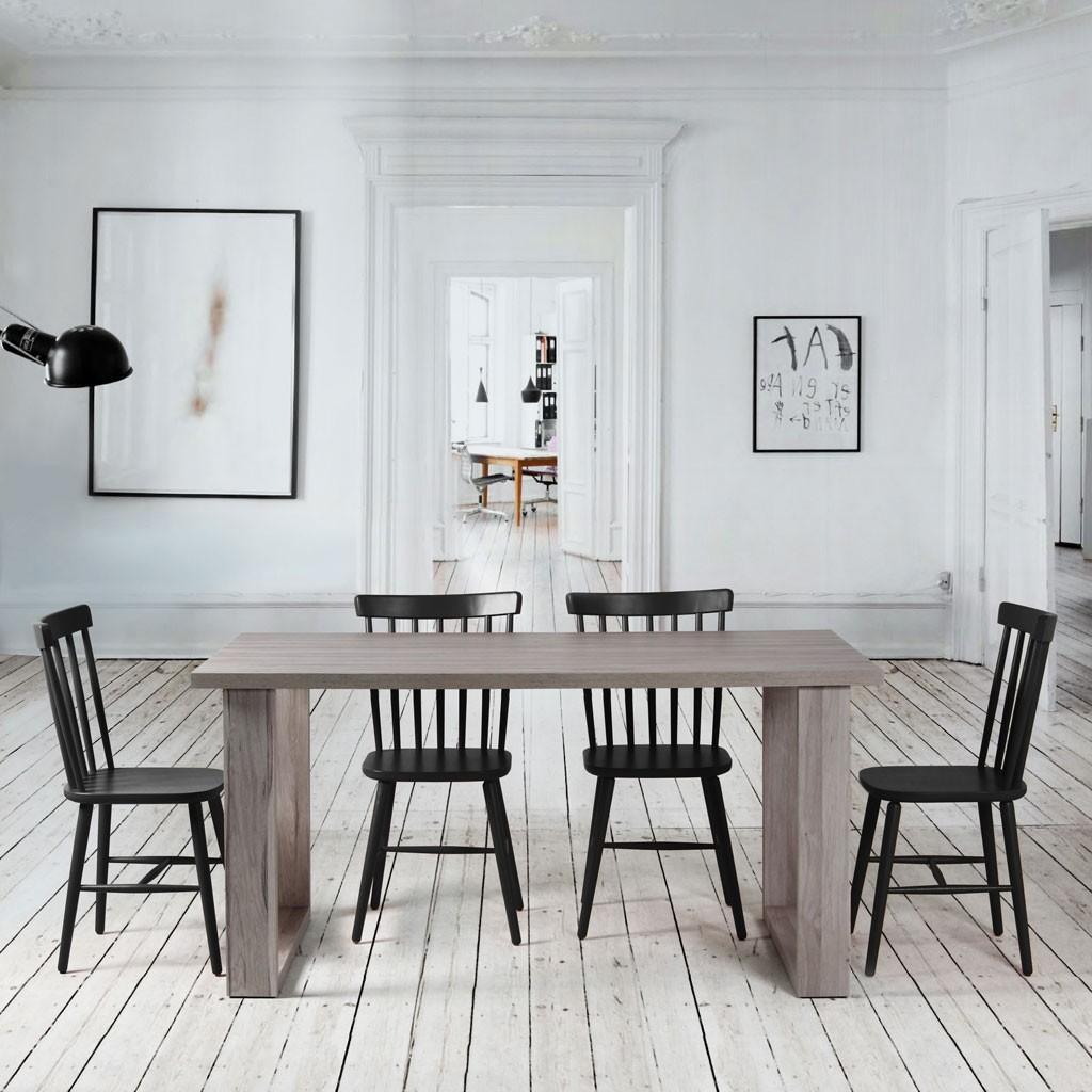 Mesa comedor nordic 2 patas erizho - Patas conicas para mesas ...