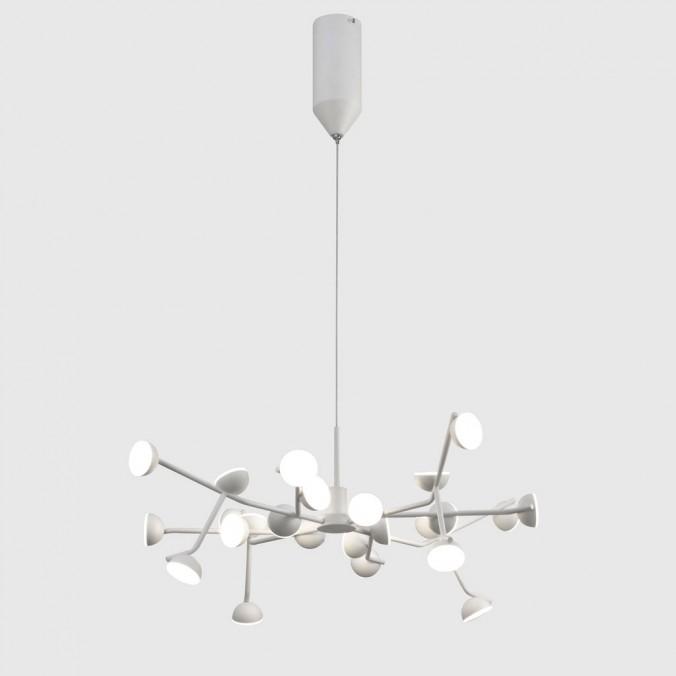 Lámpara de techo altura regulable ADN 24 luces LED