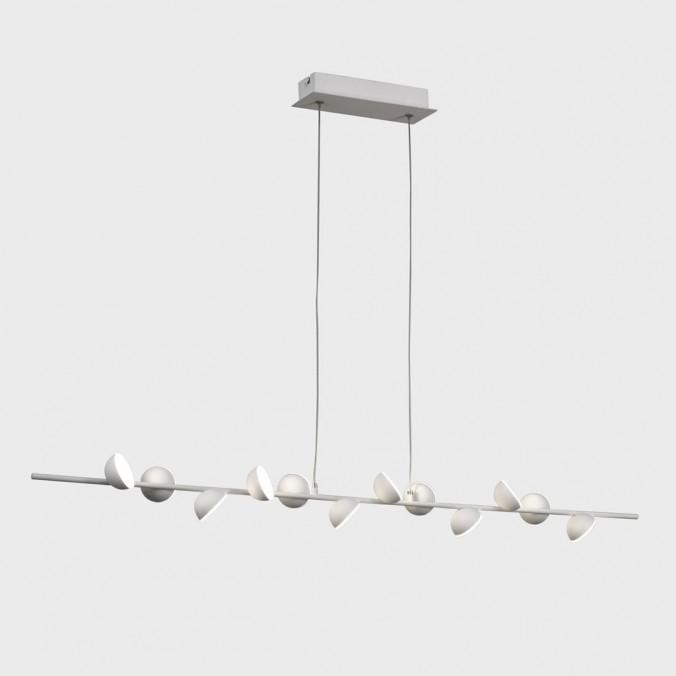 Lámpara de techo altura regulable ADN 12 luces LED