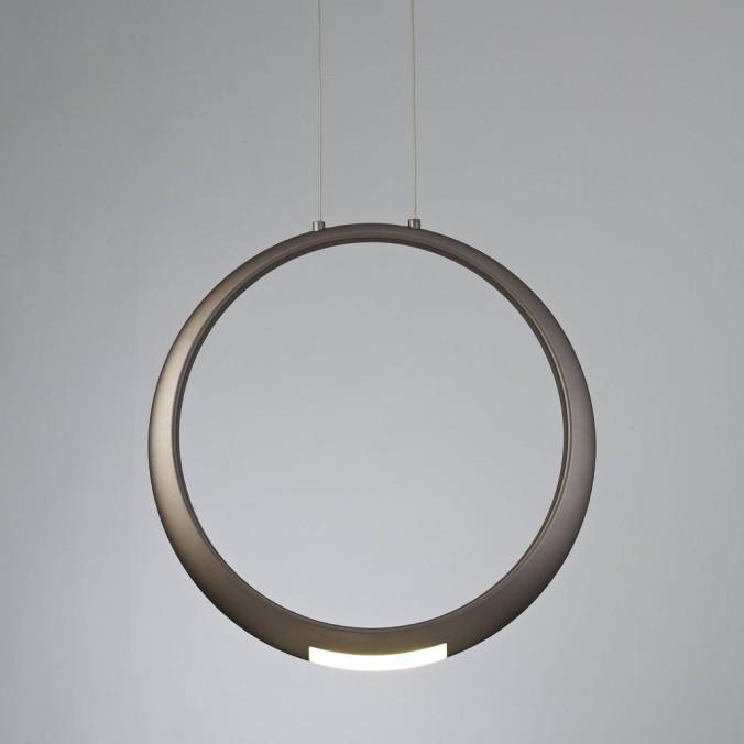 Lámpara de techo LED serie RING aluminio bronce