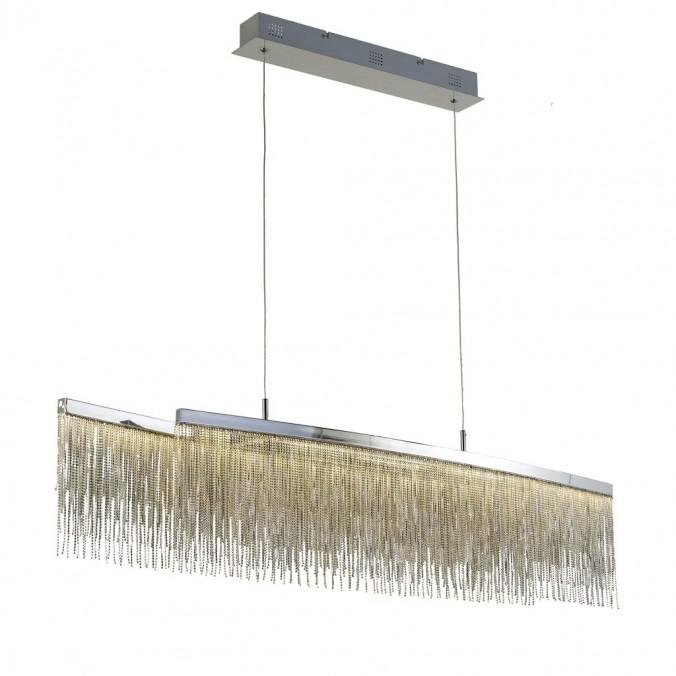 Lámpara techo suspensión LED 42W CINNA curva