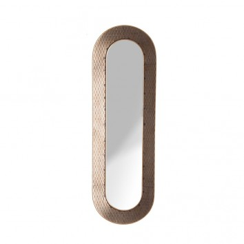 ESPEJO THUSIS marco con rejilla - 103x6x33h