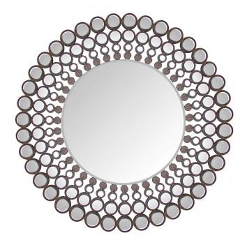Espejos de pared pie y mesa de calidad y dise o 2 erizho for Espejo redondo con marco