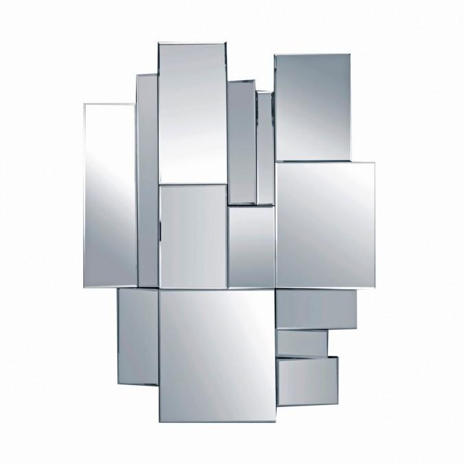 Composición de espejos cuadrados 80x106cm
