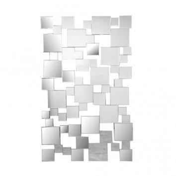 Composición de espejos cuadrados 85x141cm