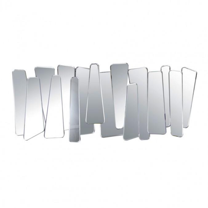 Espejo de pared diseño irregular 120x51cm