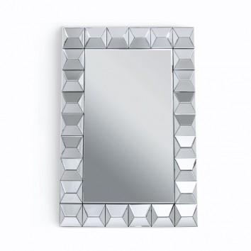 Espejo de pared diseño rectangular 80x120cm