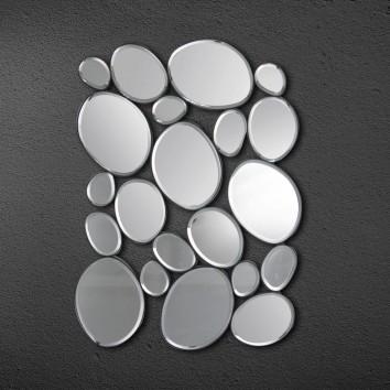 Composición de espejos ovalados 37,5 x 53cm