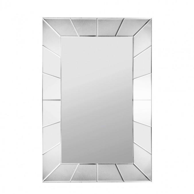 Espejo diseño rectangular de pared 90x60cm