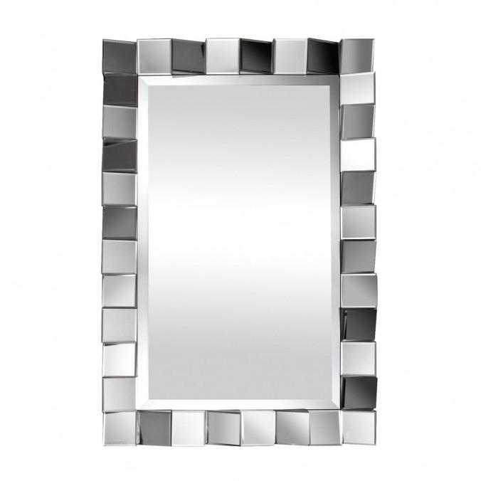 Espejo de pared diseño 60x89,5cm marco cuadros