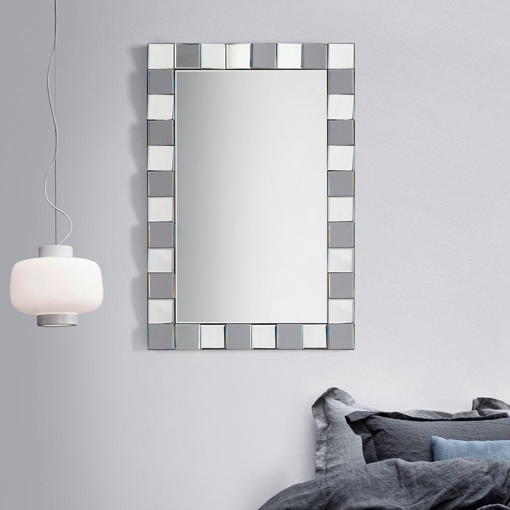 Espejo de pared dise o 60x89 5cm marco cuadros erizho for Disenos de marcos para espejos grandes