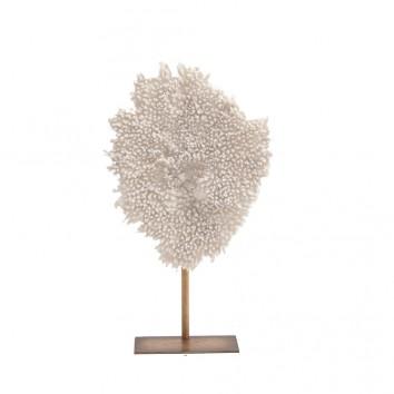 FIGURA coral en resina - 37x13x61h