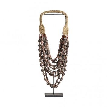 Figura collar estilo étnico - 23x13x55h