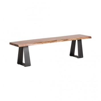 BANCO GREIN de estilo Industrial - 173x42x45h