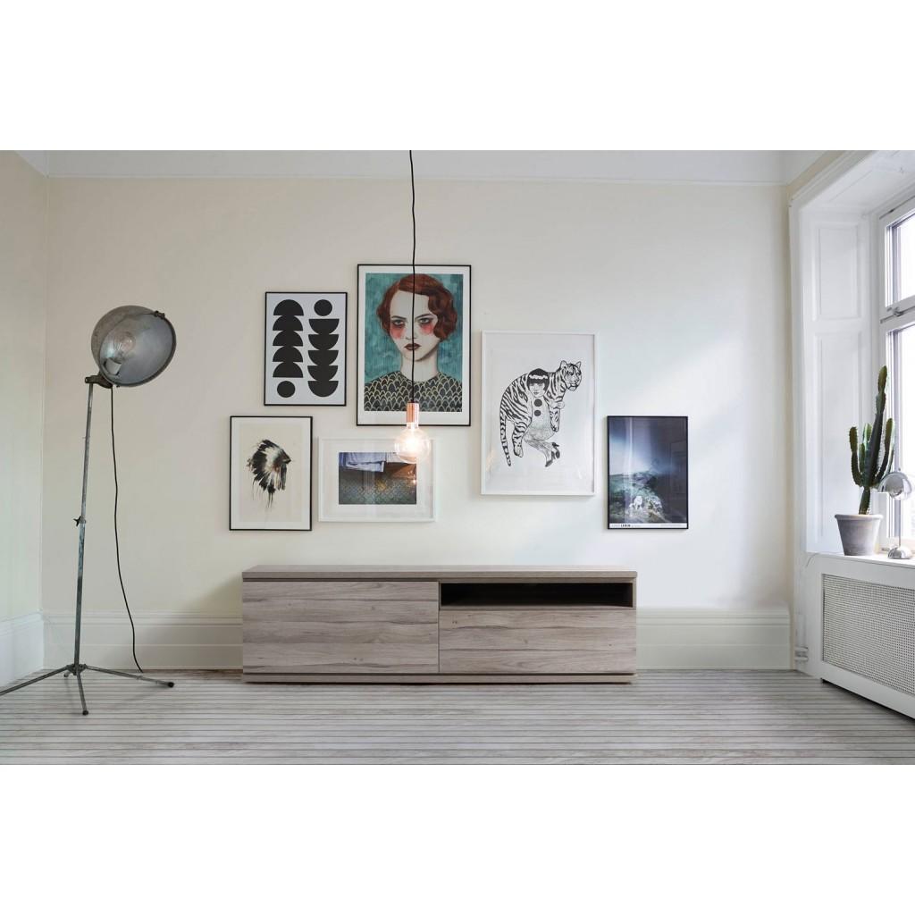 Mueble tv 160cm nordic erizho for Mueble tv 100 cm